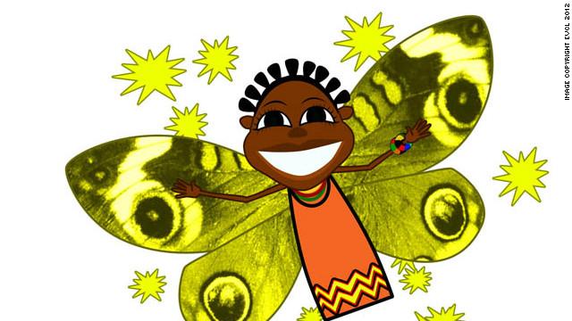 Zeena the fairy also features in the cartoon.