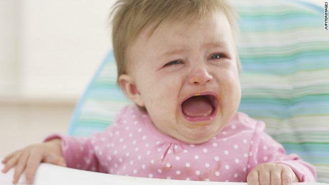 When crying kids disrupt dinner, who ends up paying the price?