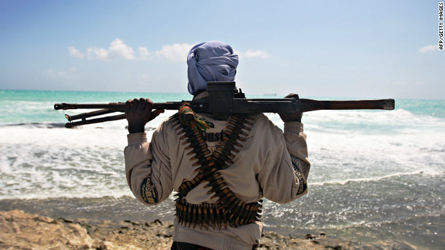European Union forces attack pirate targets on Somali shore