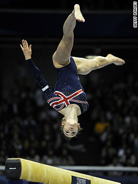 Pinches' best performance at an international meeting was winning a bronze medal at a World Cup event in Scotland in 2010 in her favorite floor event.