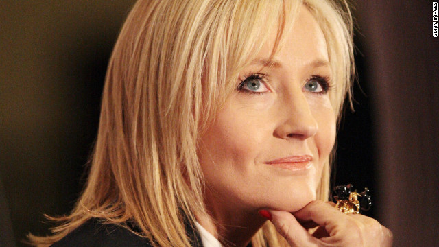 J.K. Rowling to publish first adult novel. February 23rd, 2012. 12:31 PM ET