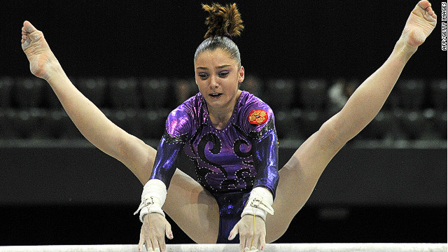 Pinches also looks up to world champion Russian gymnast Aliya Mustafina, a fellow 17-year-old who she describes as &quot;incredible.&quot; 