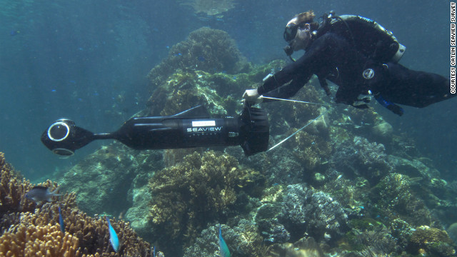 A real-time 'Seaview' of the Great Barrier Reef