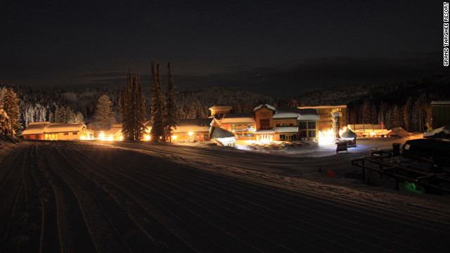 All lodging is ski-in ski-out at Grand Targhee Resort in Alta, Wyoming.