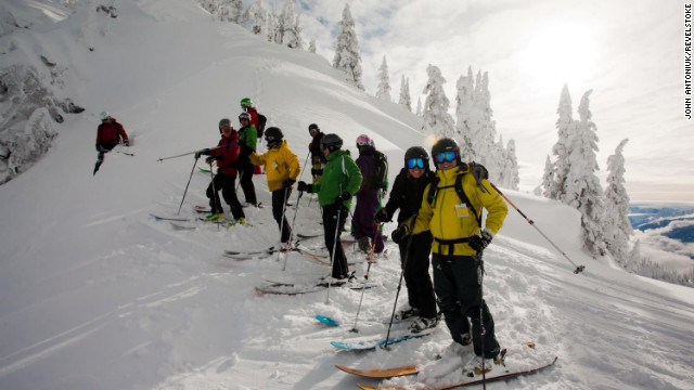 The resort offers lift, cat-skiing and heli-skiing from one village base.