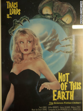 The first theatrical film Tent edited was &quot;Not of This Earth&quot; (1988), former porn star Traci Lords' mainstream debut and one of many films Tent did for B-movie producing titan Roger Corman.