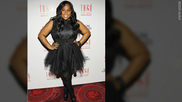 Amber Riley cuts out fast food, drops two dress sizes