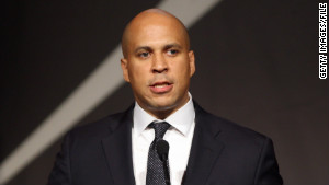 Newark, New Jersey, Mayor Corey Booker said unprovoked surveillance of Muslims in his city
