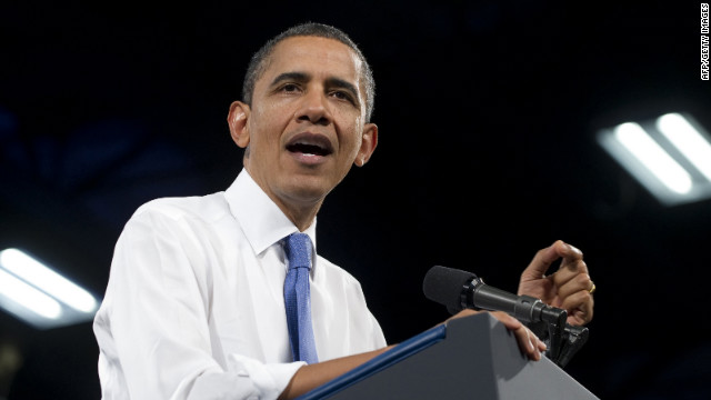 President Barack Obama tells students Thursday that energy is