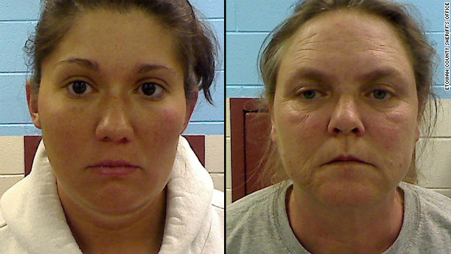 Jessica Mae Hardin, 27, and Joyce Hardin Garrard, 46, are charged in the death of Hardin's 9-year-old stepdaughter.