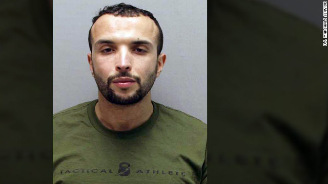 Amine El Khalifi, a 29-year-old Moroccan, was arrested Friday. 
