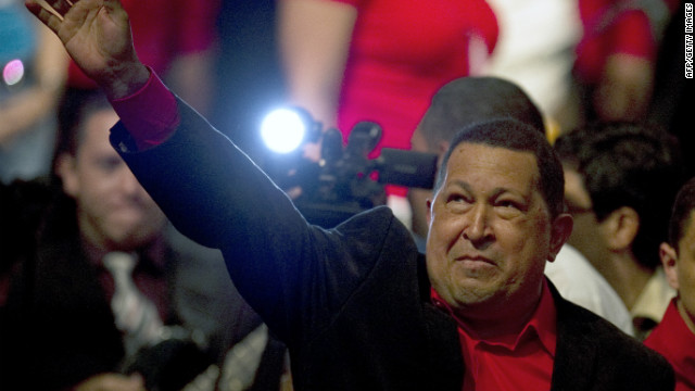 President Hugo Chavez has used the social media to send messages to his followers after surgery in Cuba.