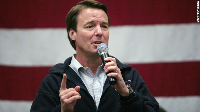 The political ambitions of John Edwards were derailed when it came out that he had an extramarital affair with Rielle Hunter.