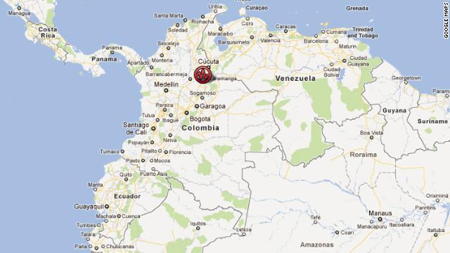 Sismo de magnitud 5,3 sacude a Colombia