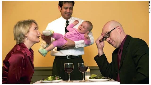 ¿Deberían prohibir a los niños llorones en los restaurantes?