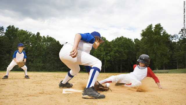 Score a home run with safety for kids