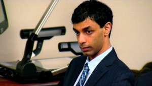 If convicted, Dharun Ravi faces up to 10 years in prison.