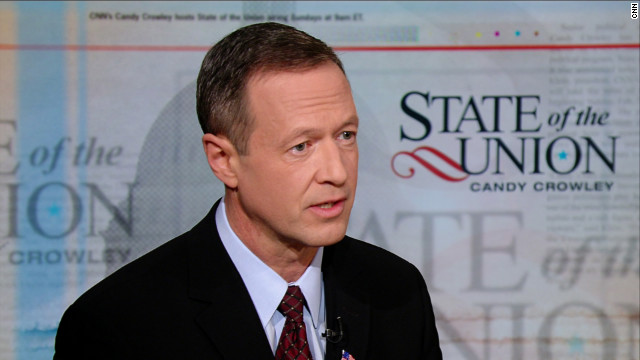 First on CNN: O'Malley to make the rounds in Nevada