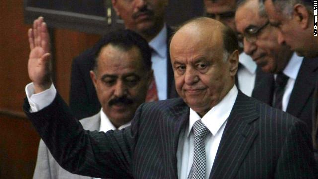 Abdurabu Mansur Hadi jura como nuevo presidente de Yemen