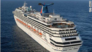 The 3,000-plus passenger Carnival Splendor set sail February 19 from Long Beach, California.
