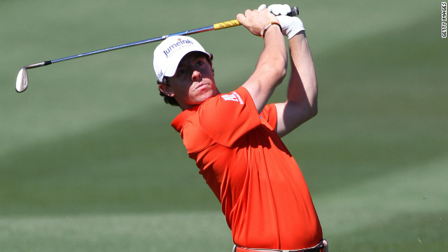 Northern Ireland golf star Rory McIlroy beat South Korea's Bae Sang-moon in his quarterfinal on Saturday.