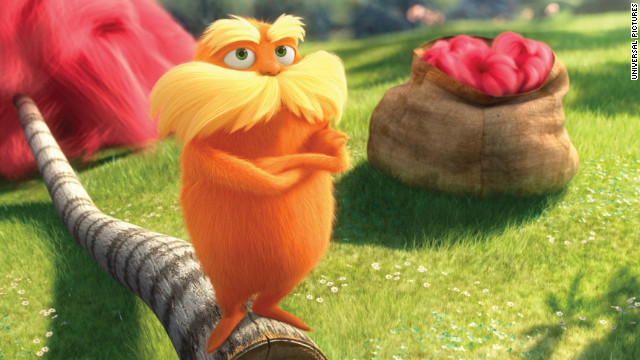 'The Lorax' could have used a pinch of Dr. Seuss' doggerel-driven anarchy.