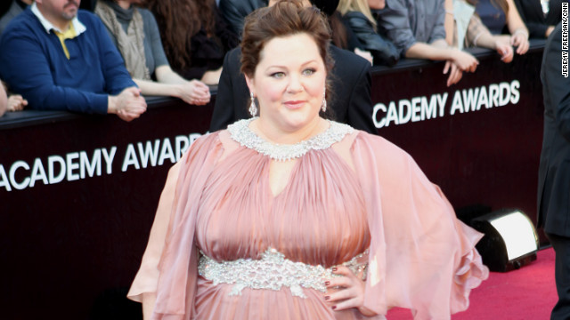 What made Melissa McCarthy cry on Oscars night?