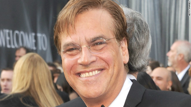 Aaron Sorkin, seen at the Academy Awards ceremony in February, will write and direct a new film on Steve Jobs.