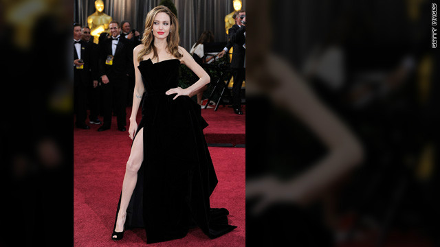 Thigh-high slits have always had a place at awards shows, but Angelina Jolie single-handedly revolutionized the style at the <a href='http://marquee.blogs.cnn.com/2012/02/27/angelina-jolies-right-leg-steals-the-show/' target='_blank'>2012 Oscars</a>. Her leggy pose proved that a great stem -- that's right, just one -- is the only accessory you need to rock the red carpet. And these 2013 Golden Globe attendees took note: