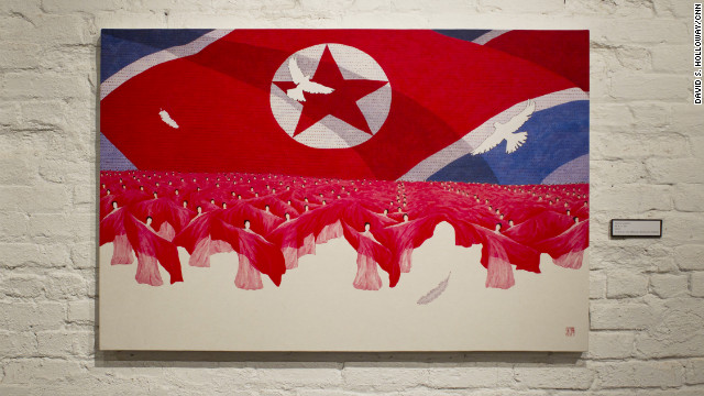&quot;Mass Game&quot; depicts a trademark image of North Korea, where thousands participate in exercises of unity and patriotism. 