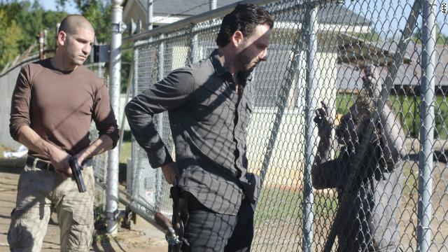 Rick and Shane brawl on 'The Walking Dead'