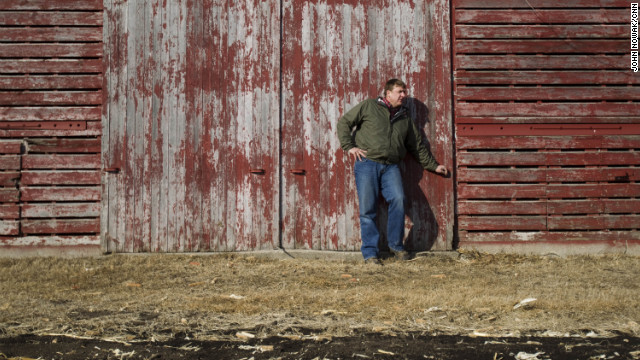 Tofteland is a third generation farmer in Minnesota. &quot;When you plant the crop and all of a sudden the field is green, it matures and you tender it and care for it all summer, and the fall comes and it turns a golden brown,&quot; he says, &quot;it's a great, great feeling.&quot; 