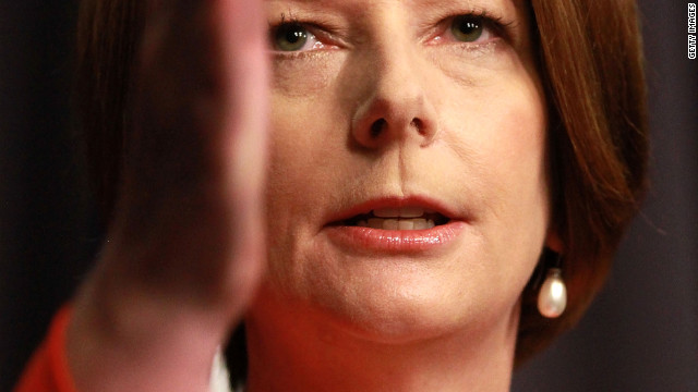 (File photo) Australian PM Julia Gillard said Wednesday that elections would take place in September.