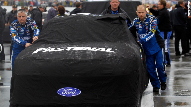 A 1st for Daytona 500: Rain washes out race for the day