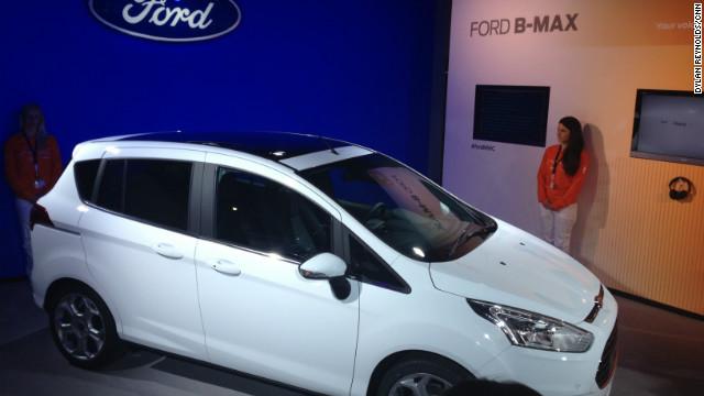 """B-Max de Ford, el auto más """"geek"""""""