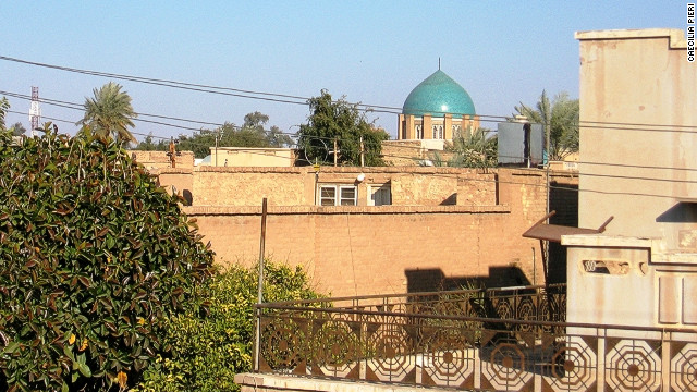 Baghdad is a garden city with many open spaces and courtyards. This photo was taken in the Adhamiya neighborhood in 2006.
