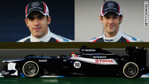 Pastor Maldonado and Bruno Senna
