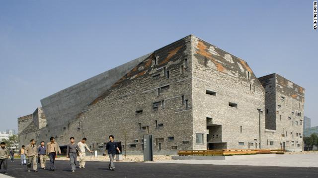 <br/> Ningbo History Museum, 2003-2008, Ningbo, China