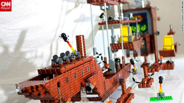 'Super Mario Bros. 3' airship gets LEGO-fied