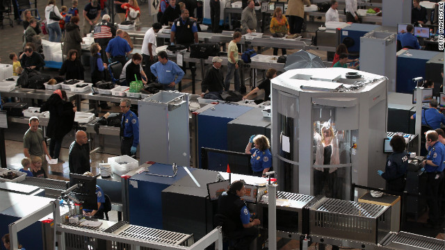 Air travelers' exposure to radiation from scanners is minimal, a report says, but a union is concerned about TSA workers' risk.