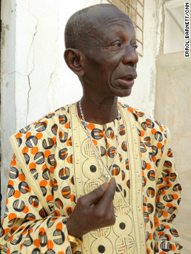 Senegal's master drummer, Doudou N'Diaye Rose.