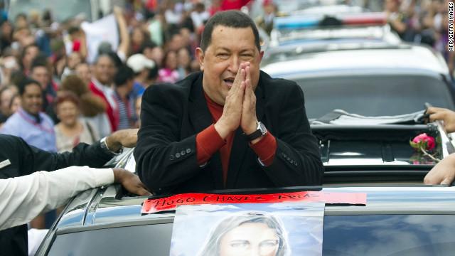 Chávez en Twitter: «¡Aquí voy, levantando vuelo como el Cóndor!»