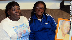 Althea Phillips and her daughter, Yvonne, talk about the death of Althea\'s fourth son, Lamont.