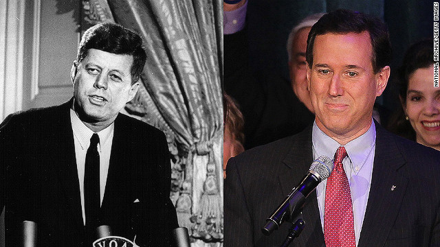 My Take: Santorum's right, JFK wrong on separation of church and state