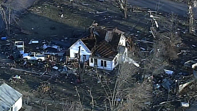 Aumenta a 12 el número de muertos por tormentas en EE.UU.