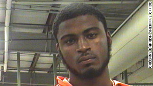 Police said Kendall Harris, 17, is linked to the shooting through DNA testing. He is being charged as an adult.