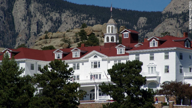 "Considered one of the United States' most haunted hotels, The Stanley inspired Stephen King's ""The Shining."""