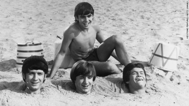 Jones buries fellow members of The Monkees in 1967. The diminutive vocalist and actor sang lead on the musical group's hits such as &quot;Daydream Believer&quot; and &quot;A Little Bit Me, A Little Bit You.&quot;
