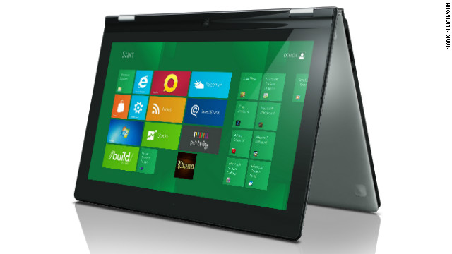 Lenovo is gearing up to hit the market with the first Windows 8 tablet, but there are speculations that it may be the Ideapad Yoga.