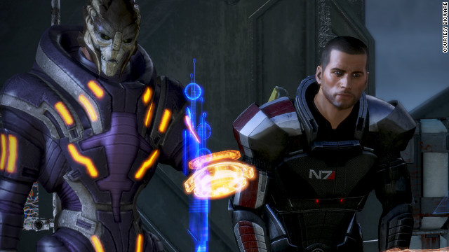 In &quot;Mass Effect 3,&quot; the final chapter in a planned trilogy, players must unite the galaxy to recapture Earth from alien invaders.